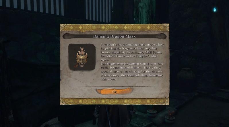 Где взять куски для маски дракона в Sekiro: Shadows Die Twice
